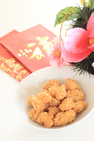 Chinese confectionery, sesame ball