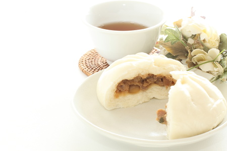 Chinese dumpling and meat bun