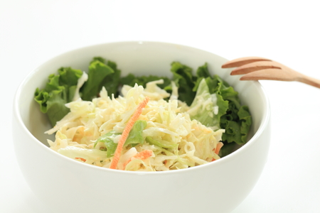 homemade Coleslaw cabbage salad