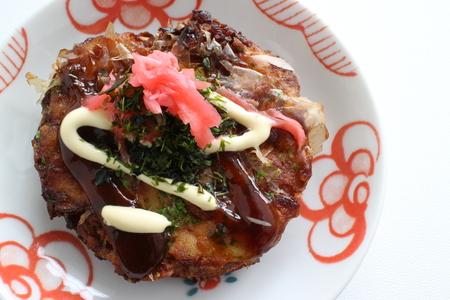 Japanese regional food, Okonomiyaki Reklamní fotografie - 85214710