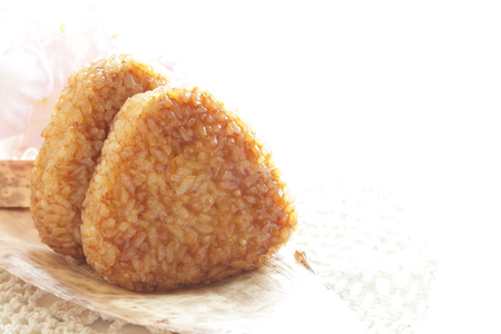 Japanese food, grilled rice ball Yakionigiri