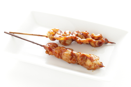Japanese food, grilled chicken Yakitori