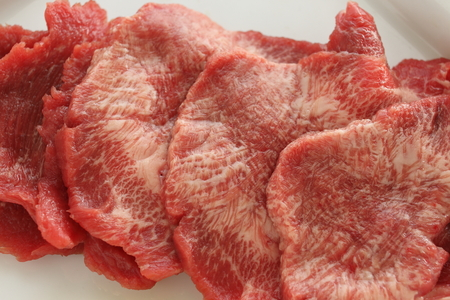 freshness beef tongue for korean barbecue ingredient image