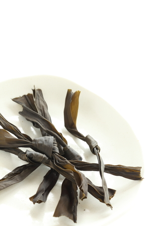 Japanese dried food ingredient, Kombu