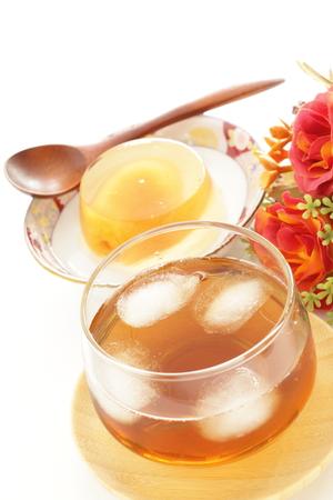 Japanese beverage, iced roasted barley tea