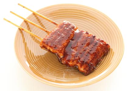 日本食、蒲焼うなぎ焼うなぎ 写真素材
