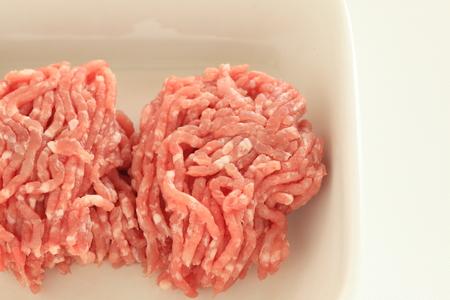 Ground pork for food ingredient
