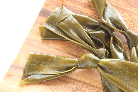 Japanese food, Kombu seaweed
