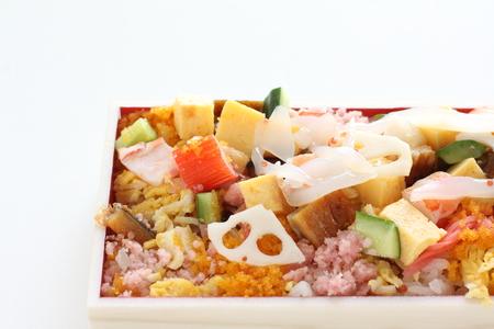 Japanese food, Chirashizushi packed lunch