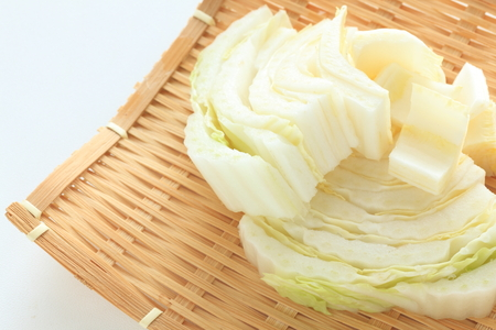 chopped vegetable, chinese cabbage