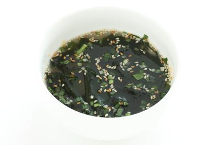 Korean food, seaweed and sesame soup Stock Photo