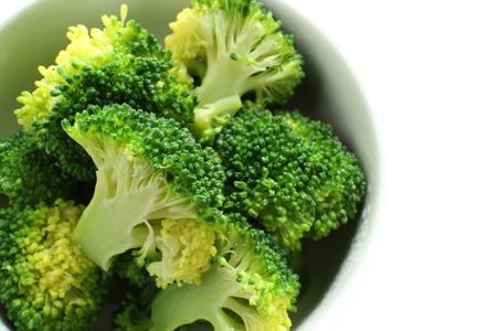 調理食品イメージのゆでブロッコリー 写真素材