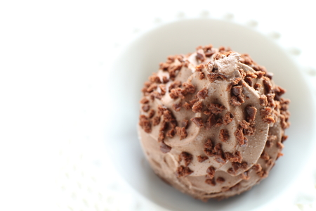 Chocolate chips ice cream