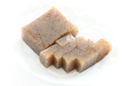 comida japonesa de alimentos de gyoza picado