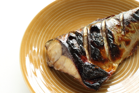 grilled miso Mackerel