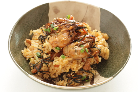 Japanese food, oster rice 版權商用圖片