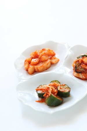 Chinese cabbage Kimchi, Korean food 版權商用圖片