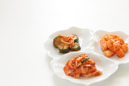 Chinese cabbage Kimchi, Korean food 写真素材