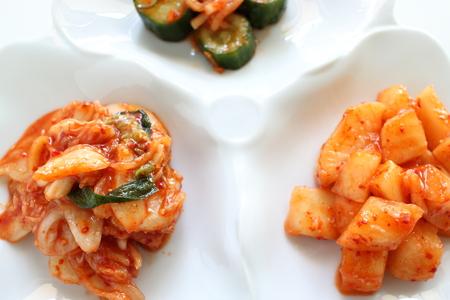 Chinese cabbage Kimchi, Korean food Stock fotó