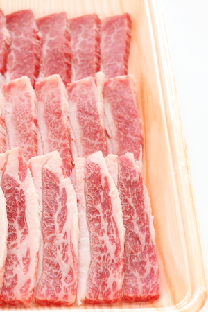 Freshness Karubi marble beef for korean barbecue