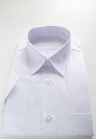 white collar shirt for school uniform image Banco de Imagens