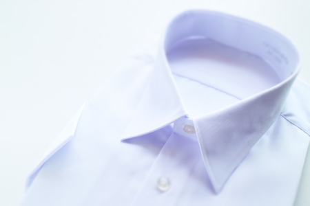 white collar shirt for school uniform image 版權商用圖片