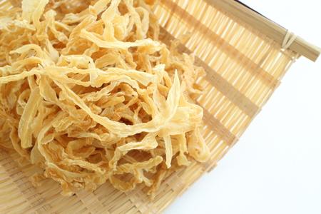 Japanese food ingredient, dried shaved radish Kiriboshidaikon