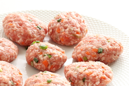 Homemade vegetable meat ball