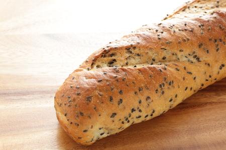 Loaf of sesame bread Banco de Imagens