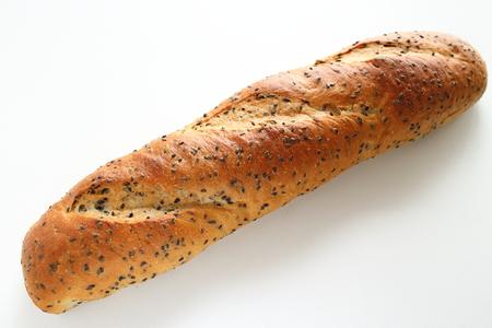 Black sesame seed bread Banco de Imagens