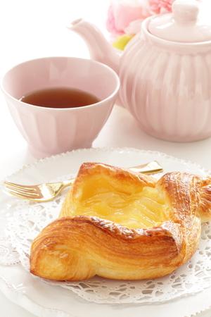Home bakery, apple pie on dish
