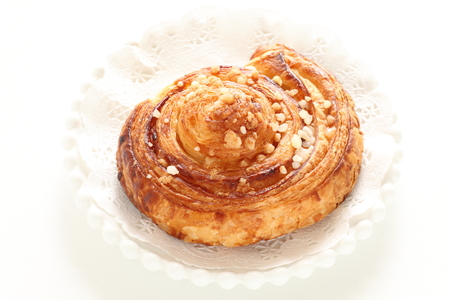 Nut and sugar Danish pastry