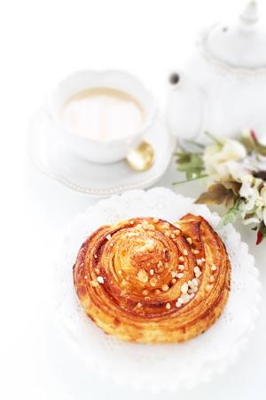 nut and sugar pastry pie Foto de archivo - 102991973