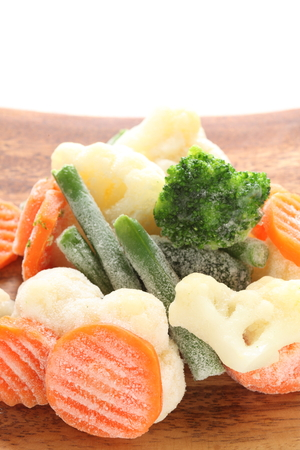 Mixed vegetables, frozen food ingredeint