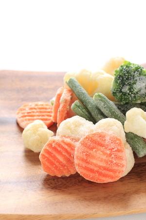 Mixed vegetables, frozen food ingredeint