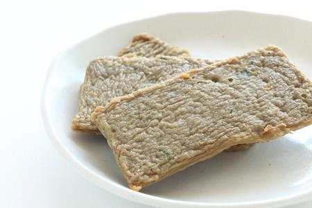 Oily fish cake for asian food image Banco de Imagens - 100479450