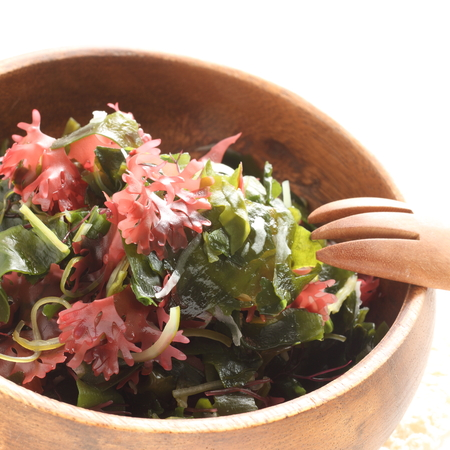 Japanese food, seaweed salad