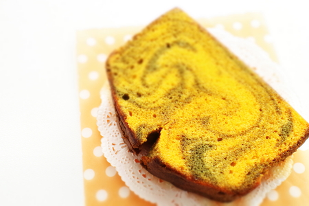 Autumn food, pumpkin cake Stock fotó