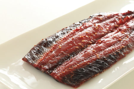 Japanese food, grilled sanma fish
