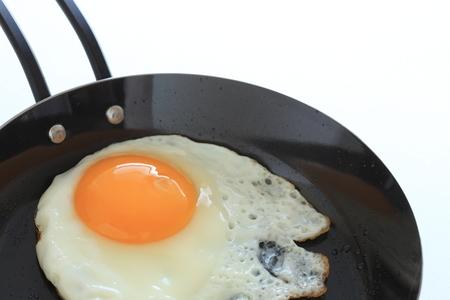 Sunny side up fried egg Banco de Imagens