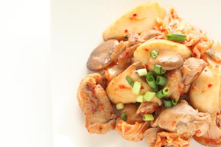 Oyster mushroom and pork stir fried