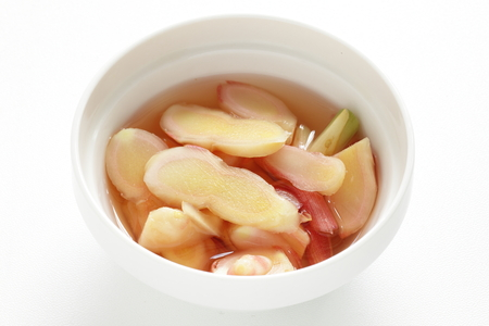 Vinegar and Japanese ginger for cooking