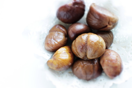 Peeled chestnut for Chinese snack food