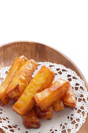 Japanese confectionery, Daigaku Imo Candied sweet potato