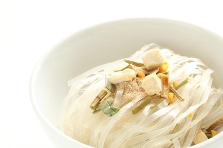 Vietnamese food, instant chicken pho