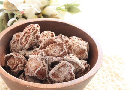 Dried plum for Chinese herbal snack image Standard-Bild - 116192060