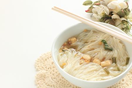 Vietnamese food, instant rice noodles Stock Photo