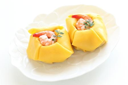 Shrimp sushi, Japanese food
