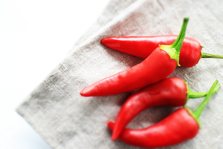 Chili pepper with copy space Stok Fotoğraf