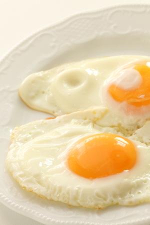 Sunny side up fried egg 版權商用圖片